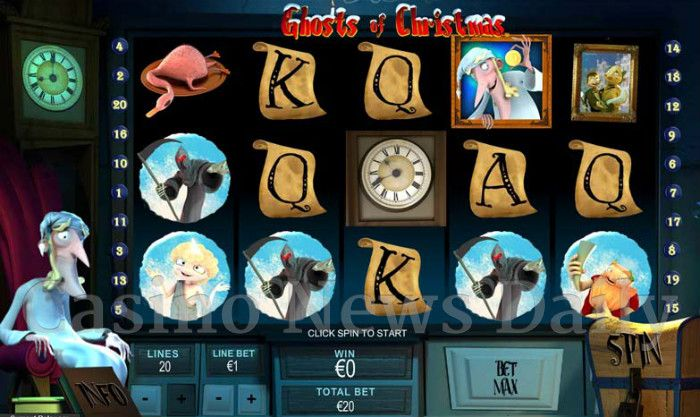 Ghosts of Christmas Online Slot