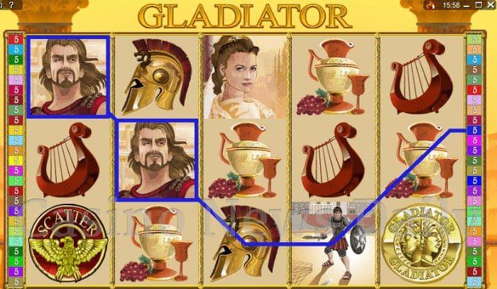 Gladiator Online Slot Microgaming