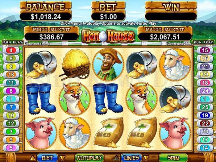 Hen House Online Slot