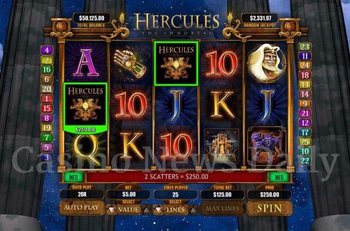 Hercules the Immortal Online Slot