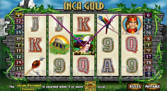 Inca Gold Online Slot