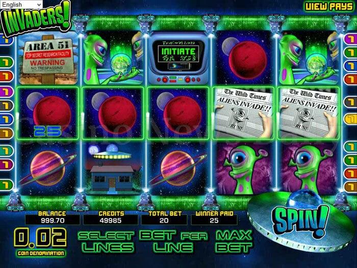 Invaders Online Slot