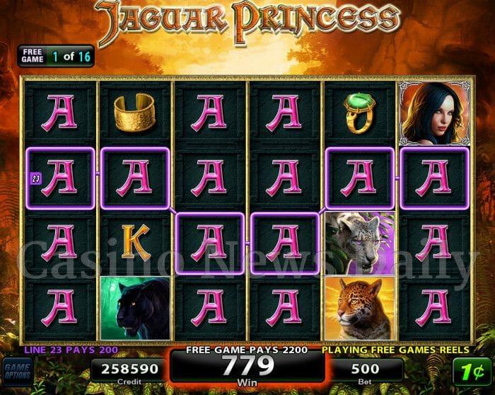 Jaguar Princess Free Slots