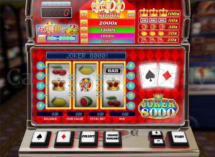 Joker 8000 Slot microgaming