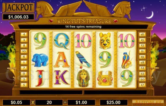 King-Tuts-Treasure-Slot