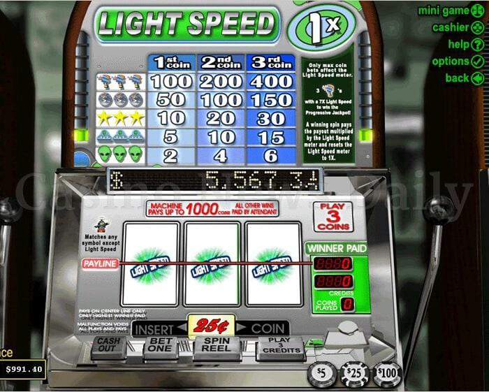 Light Speed Slot rtg