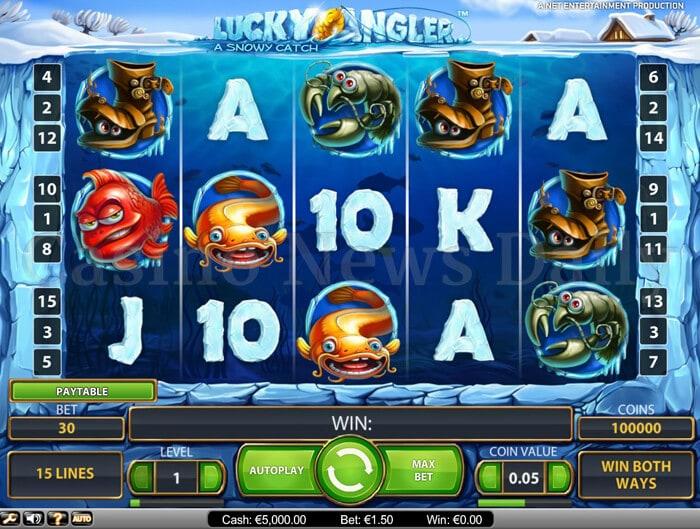 free casino slots online angler online