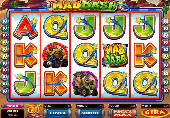 Mad Dash Online Slot