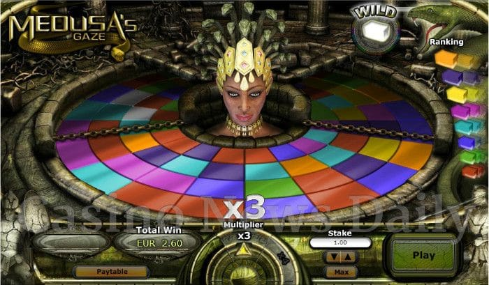 Medusas Gaze Slots - Play for Free & Win for Real