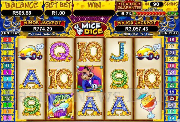 Mice Dice Online Slot
