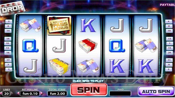 The Money Drop Online Slot