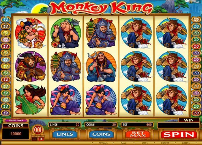 Monkey King Online Slot