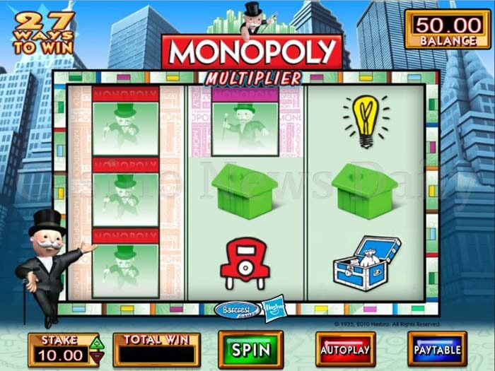 Free online monopoly slots bonus rounds