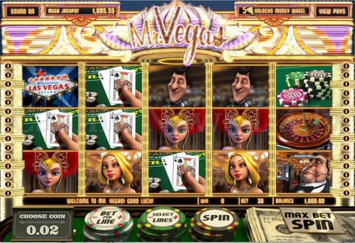 Mr. Vegas Online Slot betsoft