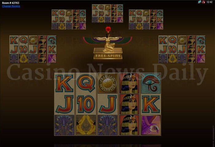 Multiplayer Isis Slot microgaming