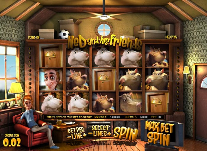 Ned and his Friends Slot betsoft