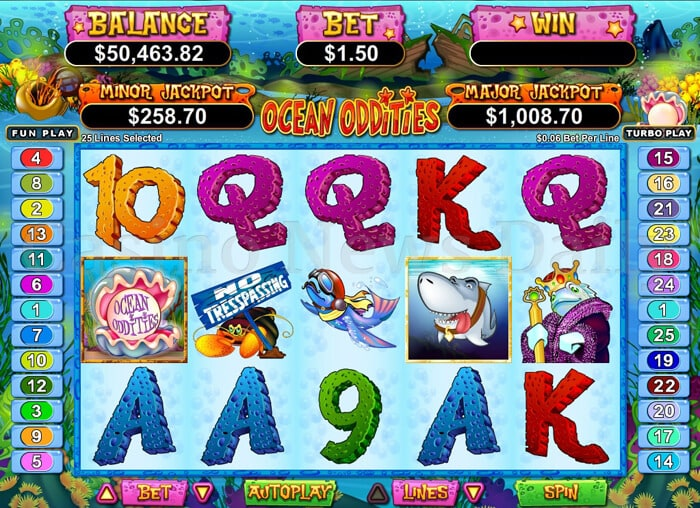 Ocean Oddities Online Slot