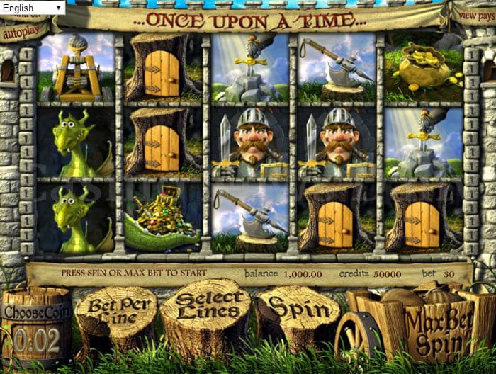 Once upon a Time Slot betsoft