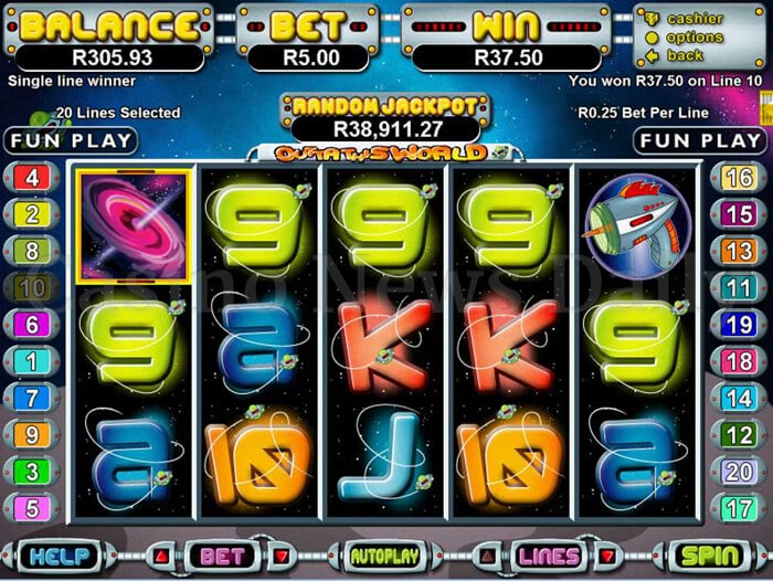 Outta This World Online Slot