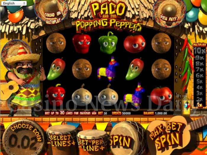 Paco and the Popping Peppers Online Slot