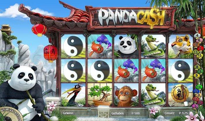 Panda Cash Slot microgaming
