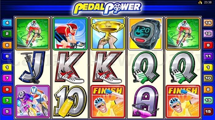 Pedal Power Slot microgaming