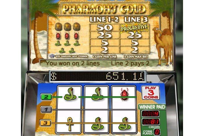Pharaoh's Gold Online Slot