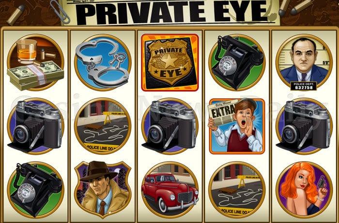 Private Eye Slot microgaming