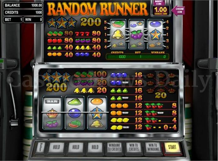 Random Runner VIP Slot betsoft