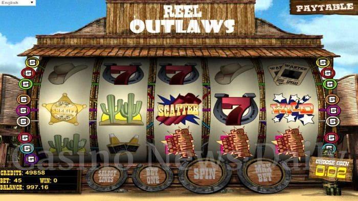 Reel Outlaws Online Slot