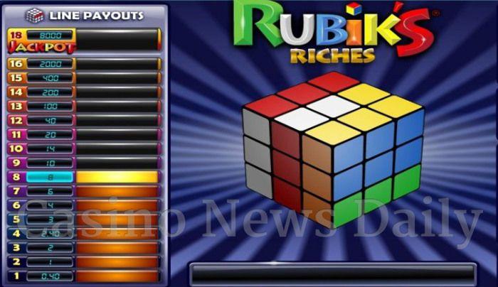 Rubik's Riches Online Slot