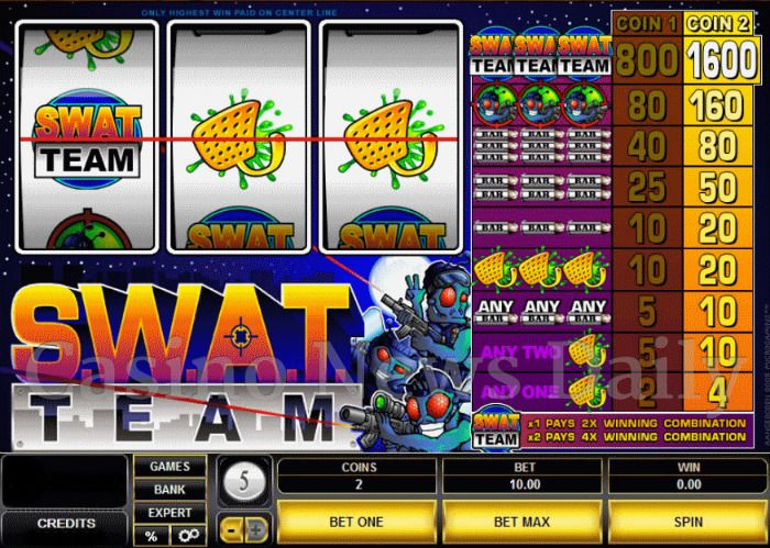 SWAT Team Online Slot