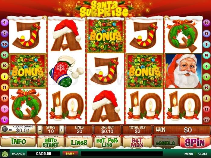 Santa Surprise Slot Machine Online ᐈ Playtech™ Casino Slots