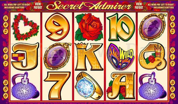 Secret Admirer Slot microgaming