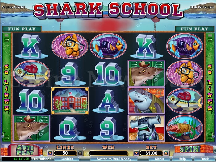 Shark School Online Slot