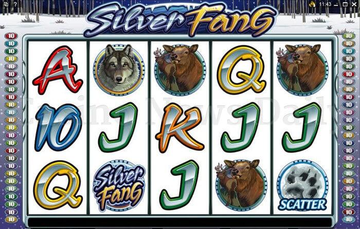 Silver Fang Slot microgaming