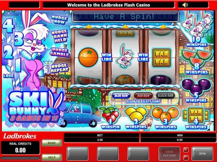 Ski Bunny Online Slot