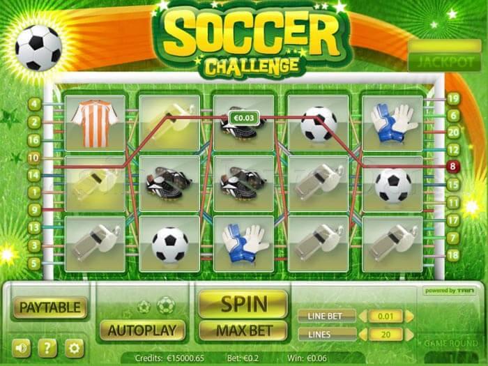Soccer Challenge Slot microgaming
