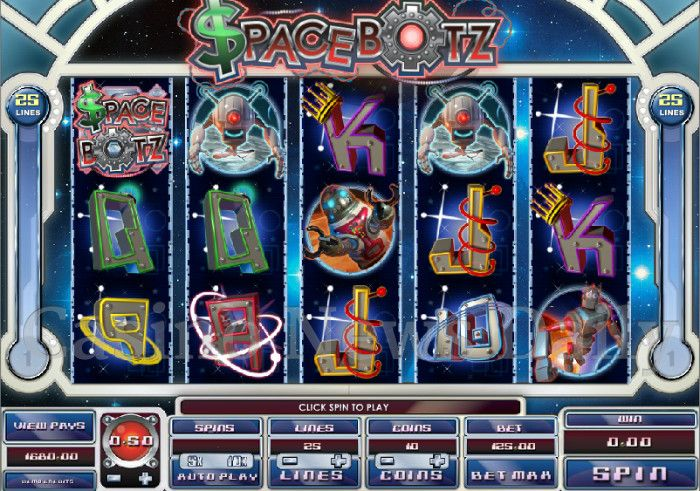 Spacebotz Online Slot