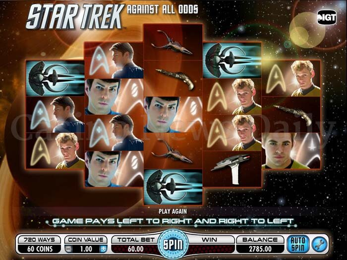 Star Trek: Against All Odds Online Slot