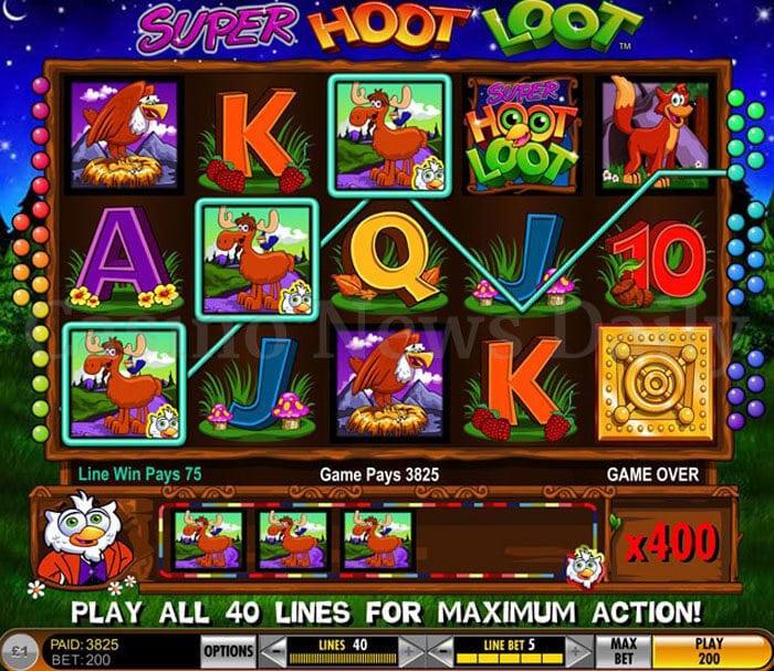 Super Hoot Loot Slot igt