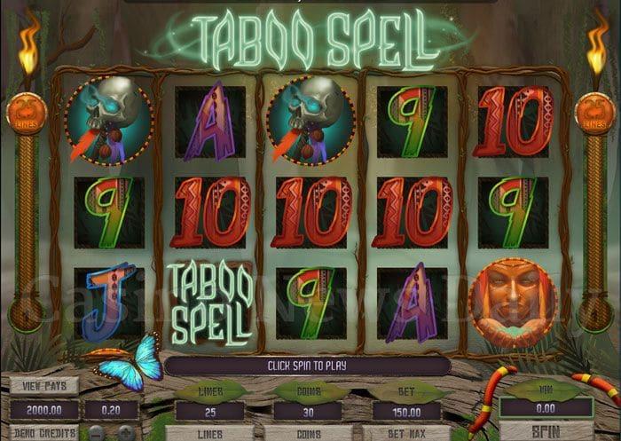 Taboo-Spell-Slot