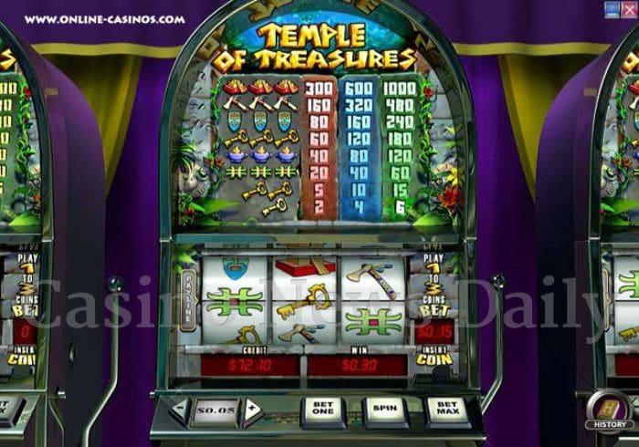 Temple of Treasures Online Slot