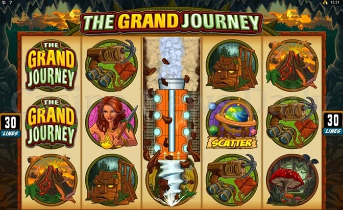 The Grand Journey Slot microgaming