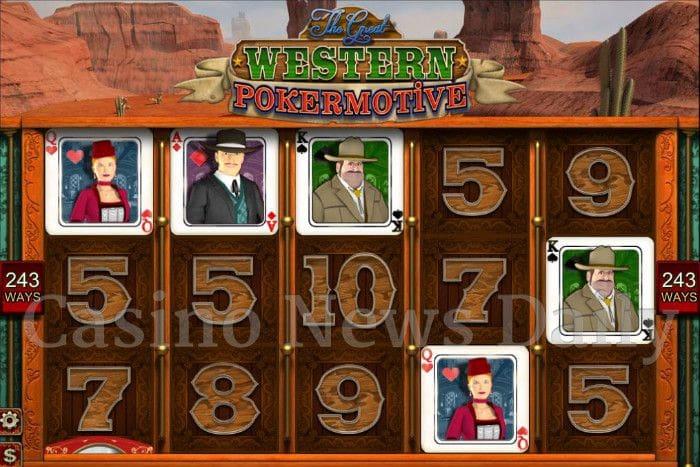 The Great Western Pokermotive Online Slot