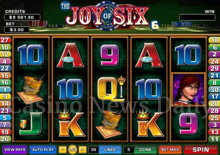 The Joy of Six Online Slot