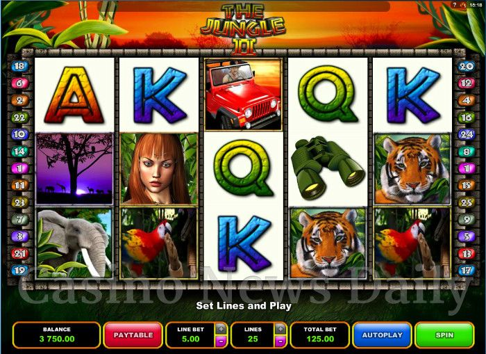 The Jungle II Online Slot