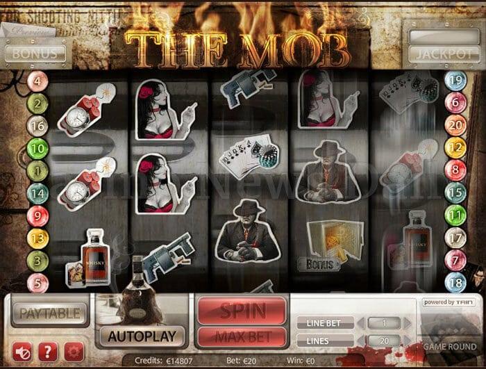 The Mob Slot microgaming