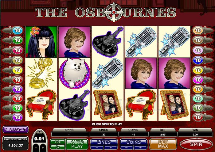 The-Osbournes-Slot