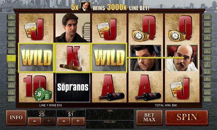 The Sopranos Slot playtech